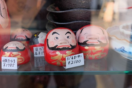 2014.01.22 鎌倉 小町通り 達磨