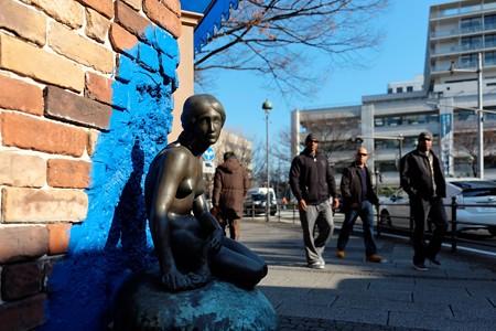 2014.01.29 海岸通り スカンディア・ガーデン 人魚姫