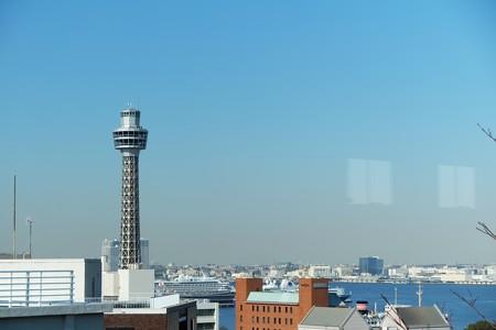 2014.01.29 山手 横浜地方気象台 窓景