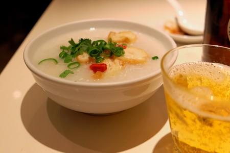 2014.01.29 中華街 謝甜記 ランチにお粥
