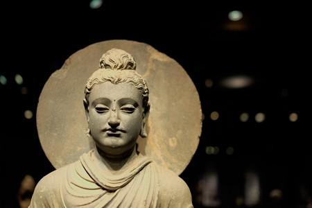 2014.02.07 東京国立博物館 如来立像 ガンダーラ TC-733