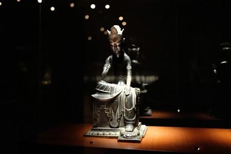 2014.02.07 東京国立博物館 菩薩半跏像 飛鳥時代 N-156