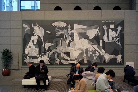2014.02.07 丸の内 OAZO Guernika パブロ・ピカソ 1934