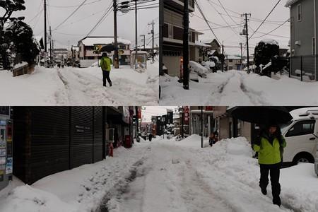 2014.02.15 家の前 大雪