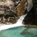最初の小さな滝 9:45~10:15