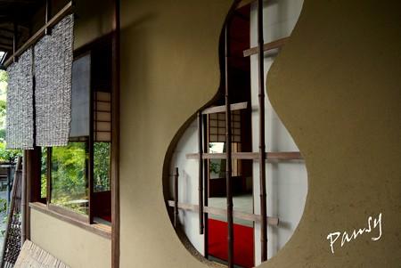 瓢箪型の窓・・妙心寺 退蔵院 20 余香苑