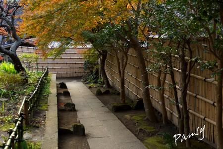 竹垣の径・・