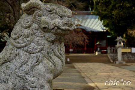 狛犬・・伊豆山神社