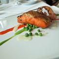 Horseradish Herb Crusted Salmon