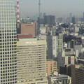 写真: 東京タワーからスカイツリー激写。
