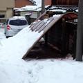 Photos: 屋根ベッコーッ!!ってなっ...