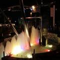 噴水ライトアップ