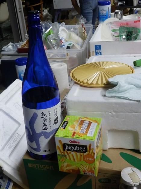 Photos: 夜のバーベキュー