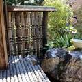 お庭の濡れ縁