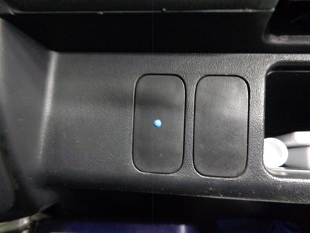 モビリオ 栃木県 ワイヤータイプクルーズコントロール取付 確認用LED