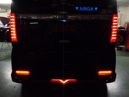 N-BOX 岐阜県 LED取付