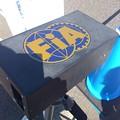 ????: FIA印のスピードガン。し...