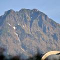 早朝の天文台と八ヶ岳