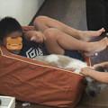 Photos: 犬好きな子供達
