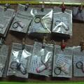 Photos: スノウママからネイルチップの迷子札