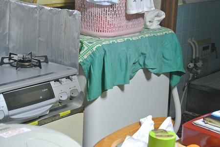 相変らずの二層式洗濯機