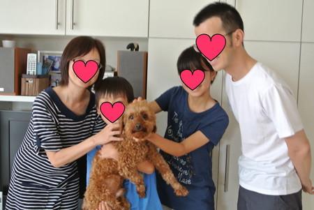 初めての家族写真♪
