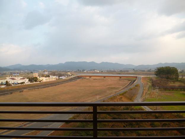 原鶴グランドスカイホテル部屋からの眺望