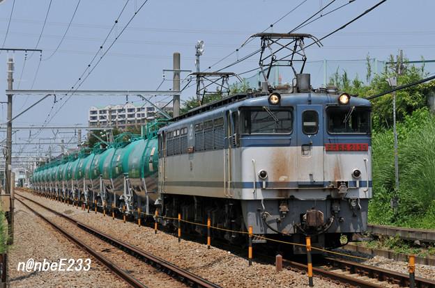 米タン 8286レ EF65 2139+タキ12B(JP-8)
