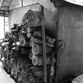 薪が必需品の生活