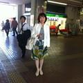 吉川駅にて
