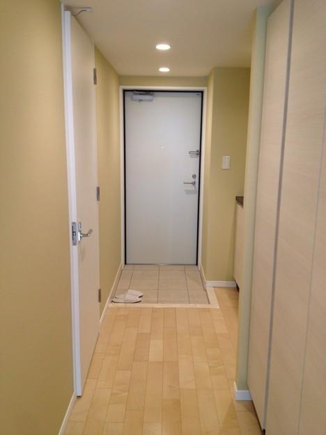 Espace TeTe~2号室廊下