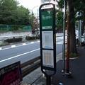 西麻布2丁目バス停~千駄ヶ谷行き全景