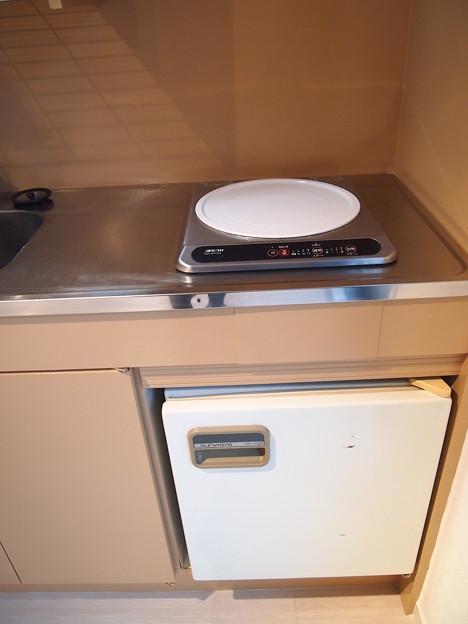 西経堂レジデンス~キッチン(冷蔵庫つき)