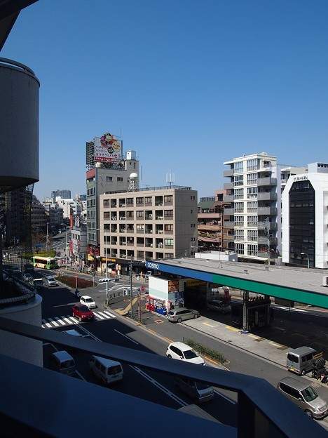 TVB曙橋ビル~ベランダ眺望2