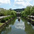 写真: 倉敷川の夏2012