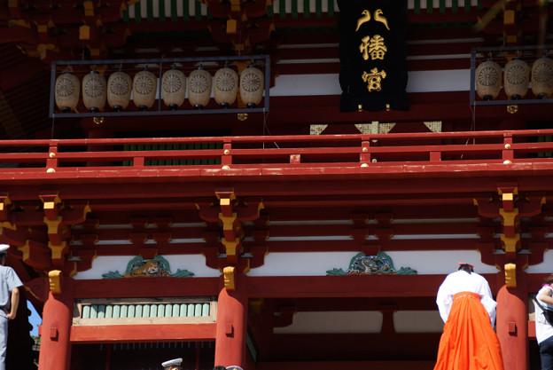写真: 鎌倉/鶴岡八幡宮に御礼!