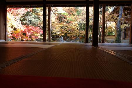 額縁の紅葉風景、京都2012!
