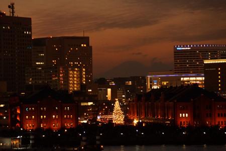 クリスマスツリーと富士山!2012