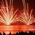 写真: 海岸の花火大会、逗子!130601