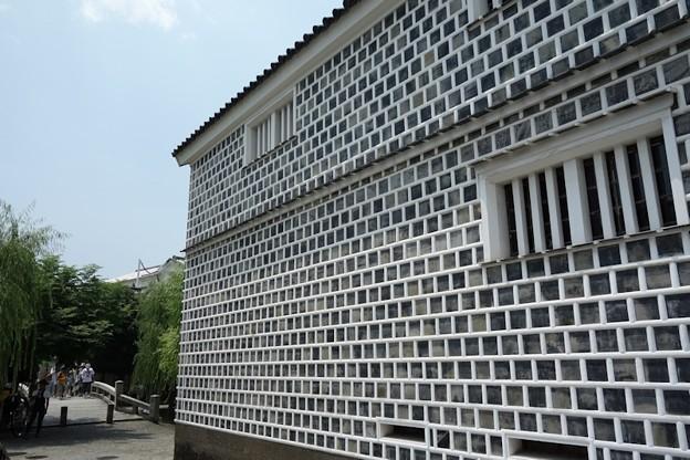 倉敷のナマコ壁!130806
