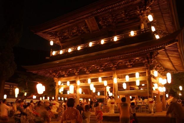 円覚寺の盆踊り!130817