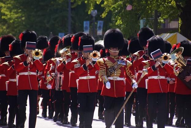 英国近衛軍楽隊パレード2!131013