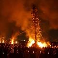 Photos: 左義長火祭り開始!140112