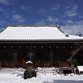 雪景色の称名寺本堂!140209