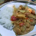 昼飯のカレー