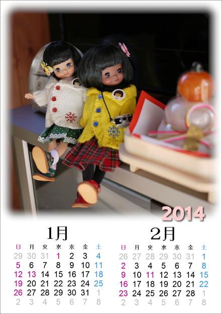 ドールカレンダー201401-02