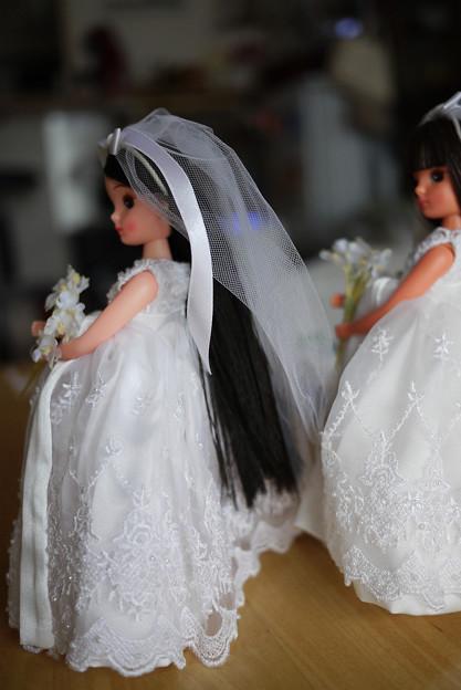 普通肌の花嫁さん