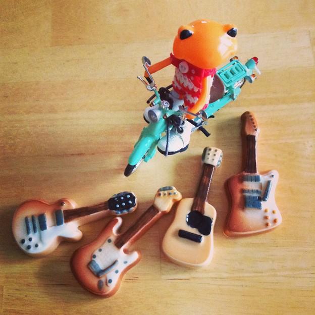 ギターの箸置き