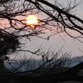 後楽園の朝日