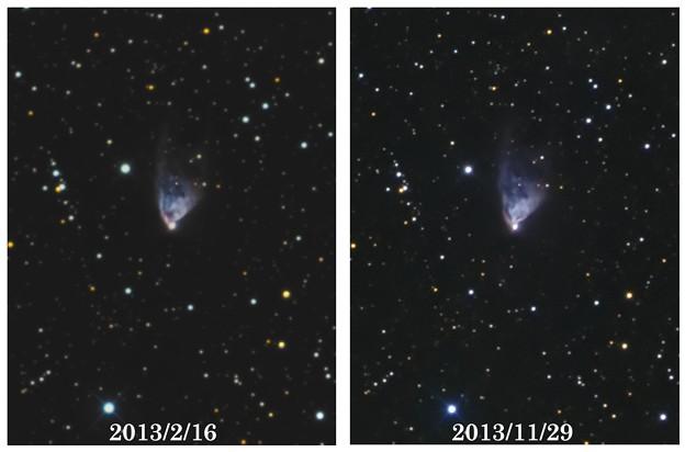 Hubble's Variable Nebula